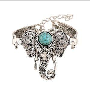 Jewelry - Elephant Bracelet with natural stone